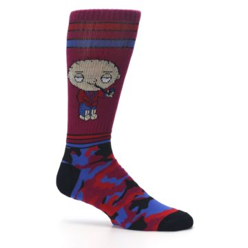 Image of Family Guy Stewie Camo Men's Casual Socks (side-1-25)
