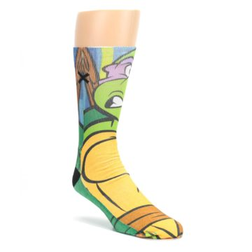 Ninja-Turtles-Donatello-Mens-Casual-Socks-Odd-Sox