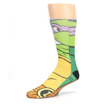 Image of Ninja Turtles Donatello Men's Casual Socks (side-2-09)