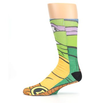 Image of Ninja Turtles Donatello Men's Casual Socks (side-2-11)