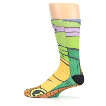 Image of Ninja Turtles Donatello Men's Casual Socks (side-2-12)