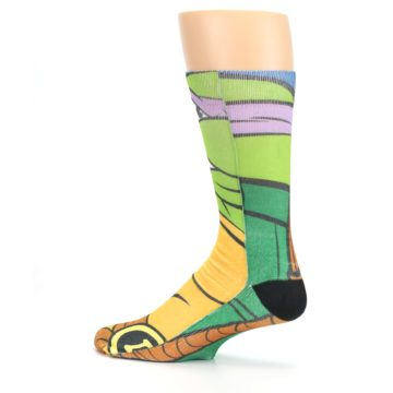 Image of Ninja Turtles Donatello Men's Casual Socks (side-2-13)