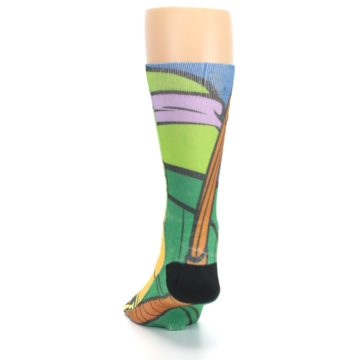 Image of Ninja Turtles Donatello Men's Casual Socks (back-17)