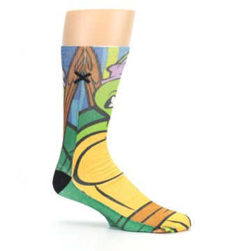 Image of Ninja Turtles Donatello Men's Casual Socks (side-1-25)