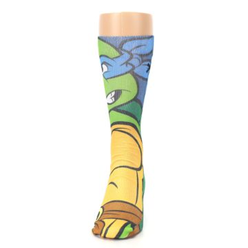 Image of Ninja Turtles Leonardo Men's Casual Socks (front-05)