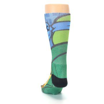 Image of Ninja Turtles Leonardo Men's Casual Socks (back-17)