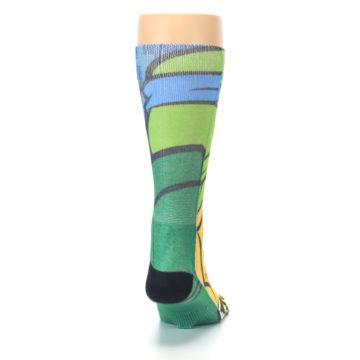 Image of Ninja Turtles Leonardo Men's Casual Socks (back-19)