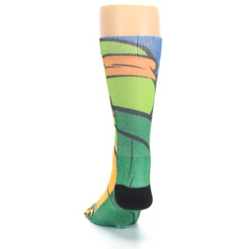 Image of Ninja Turtles Michelangelo Men's Casual Socks (back-17)