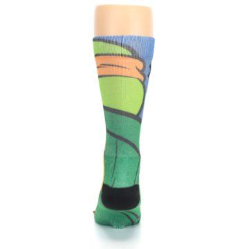 Image of Ninja Turtles Michelangelo Men's Casual Socks (back-18)