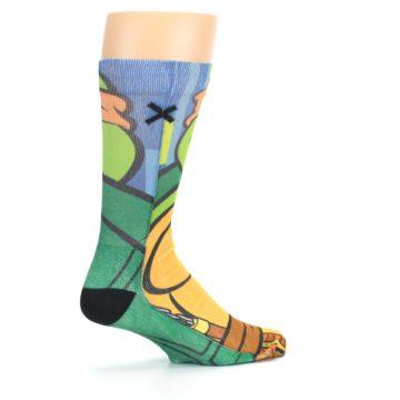 Image of Ninja Turtles Michelangelo Men's Casual Socks (side-1-23)