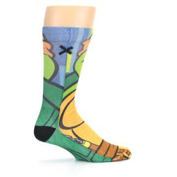 Image of Ninja Turtles Michelangelo Men's Casual Socks (side-1-24)