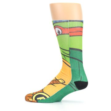 Image of Ninja Turtles Raphael Men's Casual Socks (side-2-12)