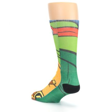 Image of Ninja Turtles Raphael Men's Casual Socks (side-2-back-15)