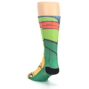 Image of Ninja Turtles Raphael Men's Casual Socks (side-2-back-16)