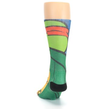Image of Ninja Turtles Raphael Men's Casual Socks (back-17)