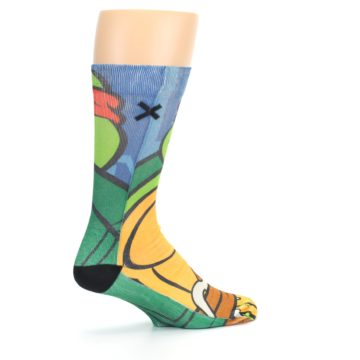 Image of Ninja Turtles Raphael Men's Casual Socks (side-1-23)