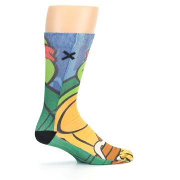 Image of Ninja Turtles Raphael Men's Casual Socks (side-1-24)