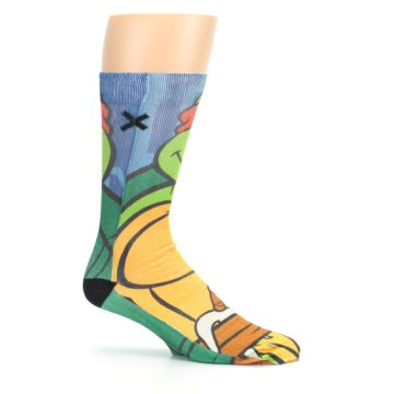 Image of Ninja Turtles Raphael Men's Casual Socks (side-1-25)