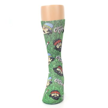 Image of Green Cheech and Chong Men's Casual Socks (front-05)