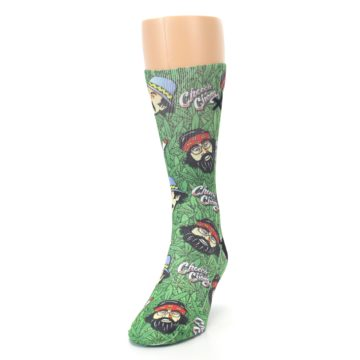 Image of Green Cheech and Chong Men's Casual Socks (side-2-front-06)