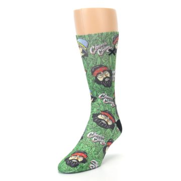 Image of Green Cheech and Chong Men's Casual Socks (side-2-front-07)