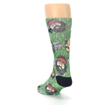 Image of Green Cheech and Chong Men's Casual Socks (side-2-back-16)