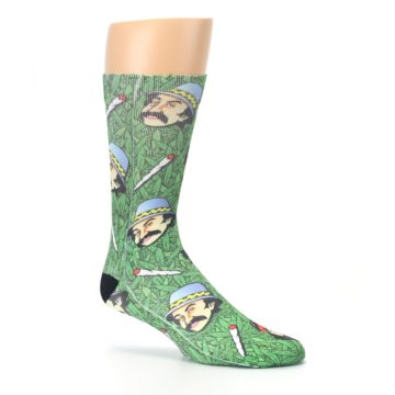 Image of Green Cheech and Chong Men's Casual Socks (side-1-26)