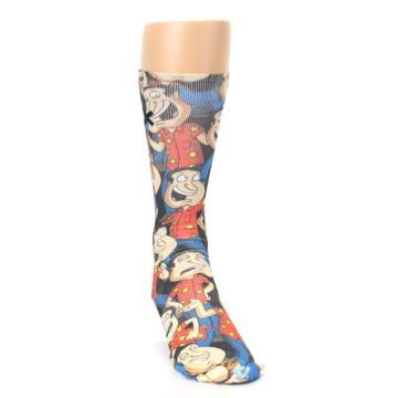 Image of Family Guy Quagmire Giggity Men's Casual Socks (side-1-front-03)