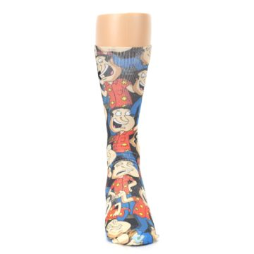 Image of Family Guy Quagmire Giggity Men's Casual Socks (front-04)