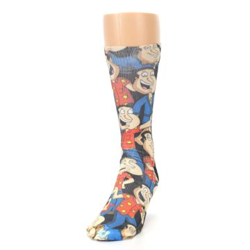 Image of Family Guy Quagmire Giggity Men's Casual Socks (side-2-front-06)