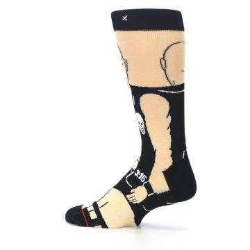 Image of Black Stone Cold Steve Austin Men's Casual Socks (side-2-13)
