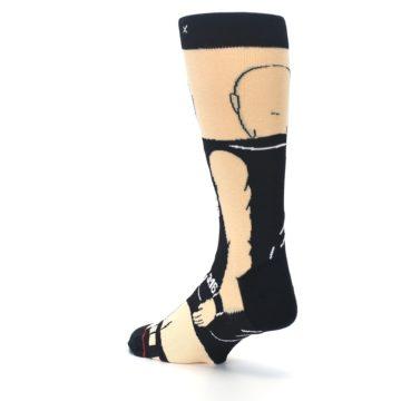 Image of Black Stone Cold Steve Austin Men's Casual Socks (side-2-back-15)