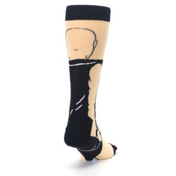 Image of Black Stone Cold Steve Austin Men's Casual Socks (side-1-back-20)
