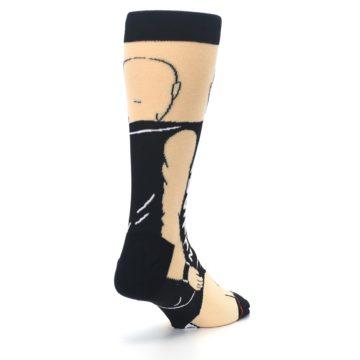 Image of Black Stone Cold Steve Austin Men's Casual Socks (side-1-back-21)