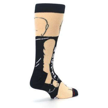 Image of Black Stone Cold Steve Austin Men's Casual Socks (side-1-back-22)