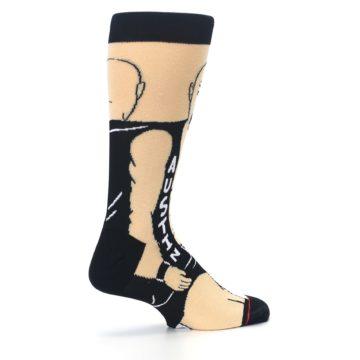 Image of Black Stone Cold Steve Austin Men's Casual Socks (side-1-23)