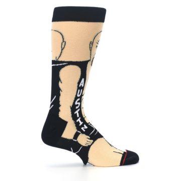 Image of Black Stone Cold Steve Austin Men's Casual Socks (side-1-24)