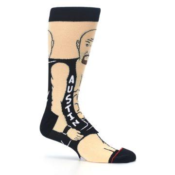 Image of Black Stone Cold Steve Austin Men's Casual Socks (side-1-25)