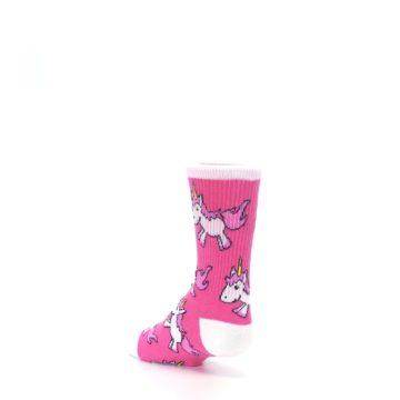 Image of Pink Unicorns Kid's Dress Socks (side-2-back-15)
