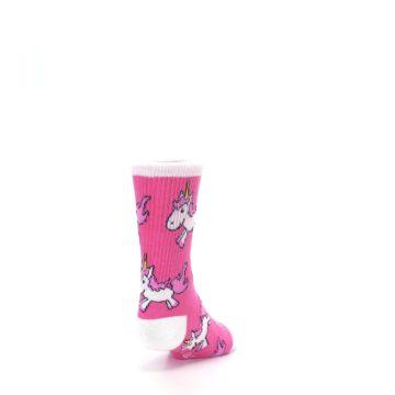 Image of Pink Unicorns Kid's Dress Socks (side-1-back-20)