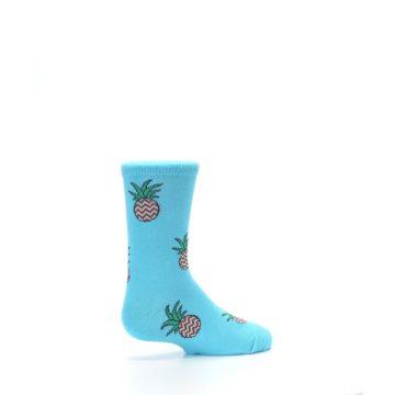 Image of Blue Pineapples Kid's Dress Socks (side-1-23)