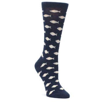 Women's School of Fish socks by Statement Sockwear