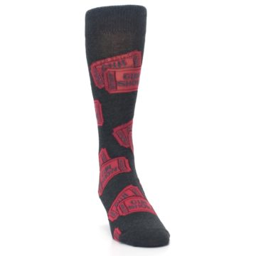 Image of Two Tickets to the Gun Show Men's Dress Socks (side-1-front-03)