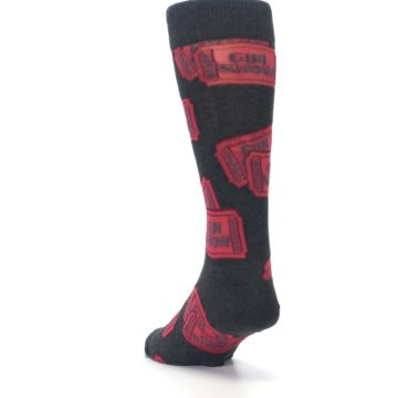 Image of Two Tickets to the Gun Show Men's Dress Socks (side-2-back-16)