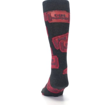 Image of Two Tickets to the Gun Show Men's Dress Socks (back-17)