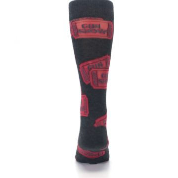 Image of Two Tickets to the Gun Show Men's Dress Socks (back-18)