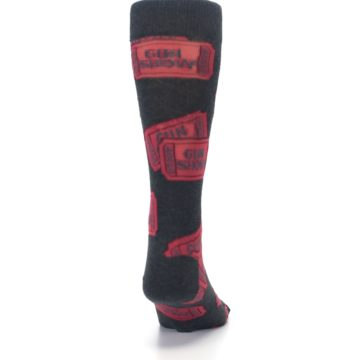 Image of Two Tickets to the Gun Show Men's Dress Socks (back-19)
