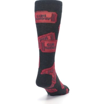 Image of Two Tickets to the Gun Show Men's Dress Socks (side-1-back-20)