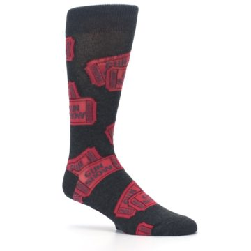 Image of Two Tickets to the Gun Show Men's Dress Socks (side-1-26)