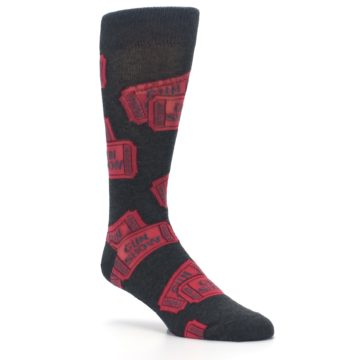 Image of Two Tickets to the Gun Show Men's Dress Socks (side-1-27)